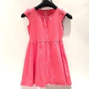 H&M pink girls dress